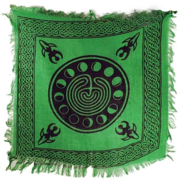 Pagan  Moon Phases ALTAR CLOTH